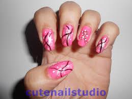 Cute nails: Breast cancer awareness nail art