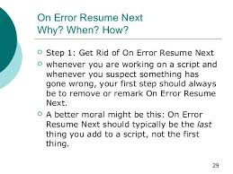 on error resume next 564