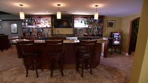 bar in the basement