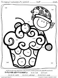 Coloring Sheets For Graders Coloring Printable Math Coloring