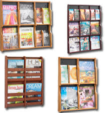 wood magazine rack wall mount. a frames,ballot boxes,magazine racks,poster frames,menu holders,wall mount literature organizers,acrylic,wood,metal, aluminum displays plus much more! wood magazine rack wall o