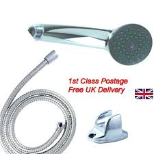 bathroom shower head and flexible hose pipe chrome bath bracket set bunnings shower heads head hose