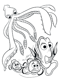 Coloring Pages Finding Nemo Coloring Book Picture Inspirations
