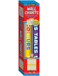 My First Wall Charts Times Tables And Colours Pack