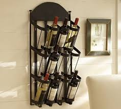 vintners wall mount wine rack contemporary racks with regard to mounted plans 9
