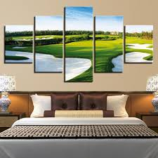 send golf course pictures canvas prints wall art paintings