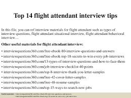 interview questions flight attendant top14flightattendantinterviewtips 150402034658 conversion gate01 thumbnail 4 jpg cb 1427946491