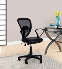 low back ergonomic chair in black colour add to cart