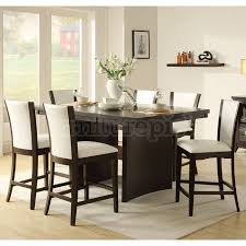 chairs regarding your property eye catching interesting counter height dining room table sets with within eye catching counter height dining