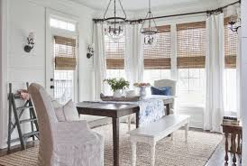 Full Size of Dining Room:nice Dining Room Window Treatments Wood Chandelier  Beaded Appealing Dining ...