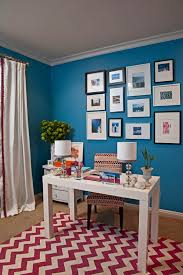 beautiful blue home offices blue home office