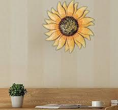 13 inch large metal sunflower wall art