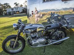the triton a modern touch to a parts bin special the bike shed