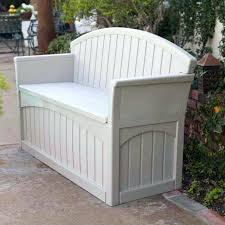 christopher knight home wing outdoor wicker storage bench view in