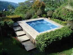 in ground jacuzzi. Outdoor In Ground Jacuzzi