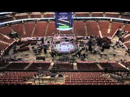 Honda Center Transforms From Ducks Game To Ufc On Fox National Stage