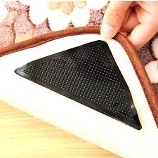 rug on carpet gripper hot set reusable washable mat grippers non slip silicone to pad
