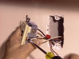 installing a gfci outlet how tos diy white wires to silver screws and black to brass