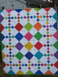 Diamond Patch Quilt Pattern Comes in 3 Sizes - Quilting Digest & Diamond Patch Quilt Pattern Adamdwight.com