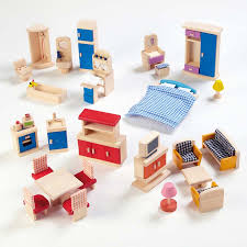 small world dolls house rooms furniture set small