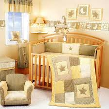 stars crib bedding star and moon baby bedding set for in