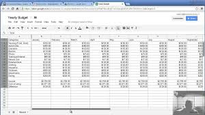 financial planner template financial budget plan template
