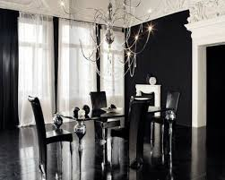 black and white dining table set: dining roomexclusive modern black dining room decoration table set in white attic kitchen design