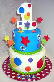 Baby Boy One Year First Birthday Cake