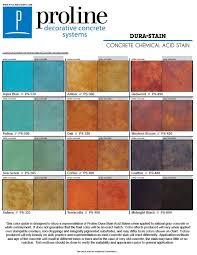 Concrete Stain Chart Pin On Acid Stain Color Charts
