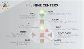 Overview Of Human Design 9 Energy Centers And 64 Gates