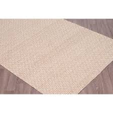 erbanica 6 x 9 handmade reversible flatweave wool area rug beige ivory only