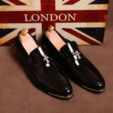 Men's Fashion Loafers Pointed Leather Shoes Men's Dress ... - Vova