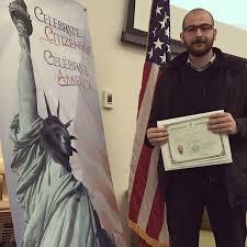 Lifelong Dream A Lifelong Dream Of Becoming An American Citizen Came True