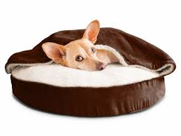 Snuggery Hooded Dog Bed