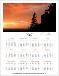 one page calender 2017 sunset one page calendar donald verger photography