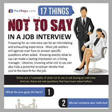 Medical Sales Interview Questions 17 Things Not To Say In A Medical Sales Job Interview