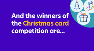 Purple Christmas Card And The Winners Of Our Christmas Card Competition Are 26