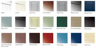 these garage doors are factory finished in deep textured paint to one of twenty four classic colours plus white the deep textured paint finish is