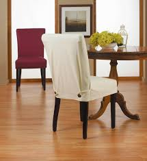 dining nifty furniture decor ideas elastic chair covers slipcovers for enticing cotton duck long together with room