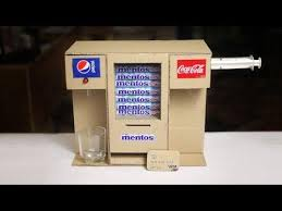 Mentos Vending Machine Inspiration Wow Amazing Diy Mentos Vending Machine Using Card 488GP Mp48 HD Video