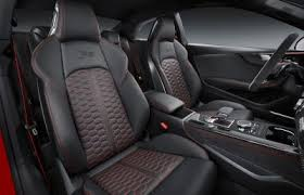 2018 audi rs5. modren rs5 as a topnotch sports car rs5u0027s interior is what exactly every fan needs  rs sports seats come with optional diamond stitching in fine nappa leather  in 2018 audi rs5