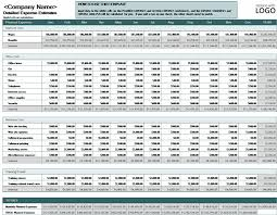 Expense Template In Excel Business Expense Budget For Microsoft Excel