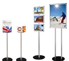 Free Standing Display Board Floor Standing Display Stands Magazine Stands 79