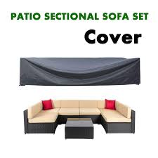 Patio coverpatio furniture set covers waterproof outdoor furniture lounge porch sofa waterproof dust proof protective loveseat covers walmart com