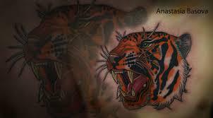 тигр тату на груди у парня добавлено анастасия басова