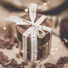 hot chocolate in acacia gl gift jar