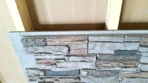 fake stone wall panels home depot