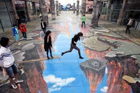 Amazing 3d Sidewalk Chalk Art Mrsofmr