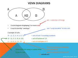 Venn Diagram For Sets Sets Venn Diagrams Probability Ppt Download