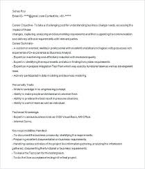 Technical Business Analyst Resume Sample Business Analyst Sample ...